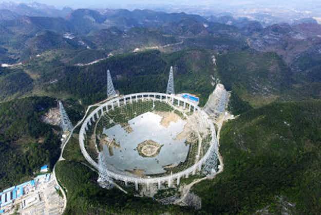 China's giant alien-seeking telescope evacuates locals