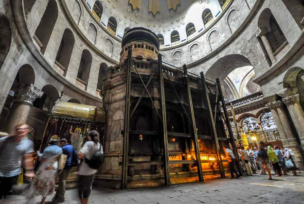 The 2000 year old tomb of Jesus set to undergo restoration work after Easter