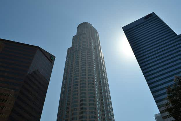 Glass ride coming to LA's tallest building