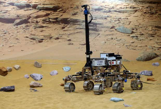 Meet Bruno, Bridget and Bryan, the rovers helping scientists look for life on Mars