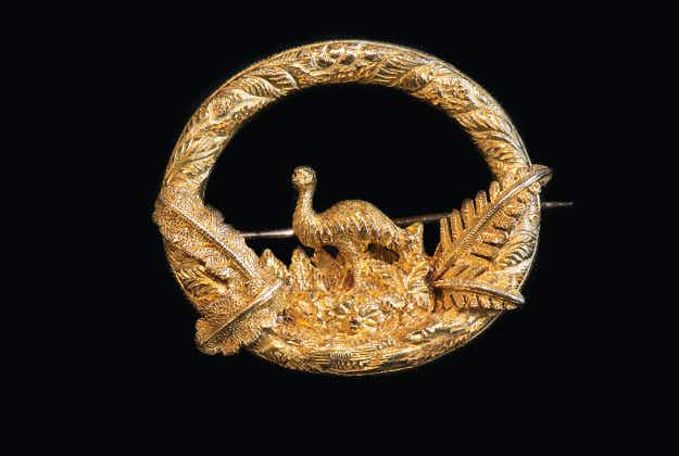 Gold Rush era bling goes on display at Australian museum