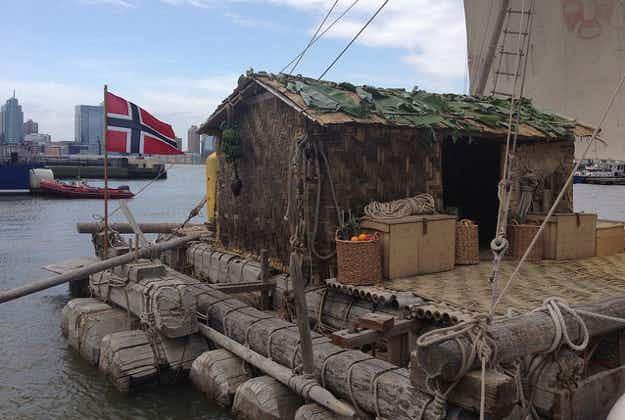 Crew re-enacting famous Kon Tiki voyage rescued off Chile coast