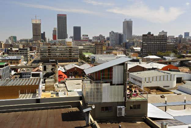 Travel inspires rebirth of central Johannesburg's Maboneng neighbourhood