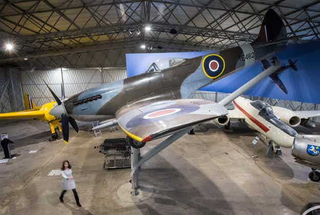 Scottish museum honours 80th anniversary of Spitfire