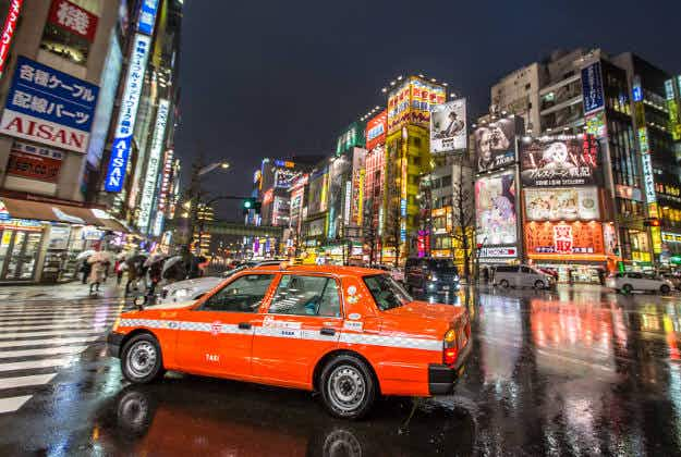 Japanese cities targeting tourists with cheaper taxi fares from April