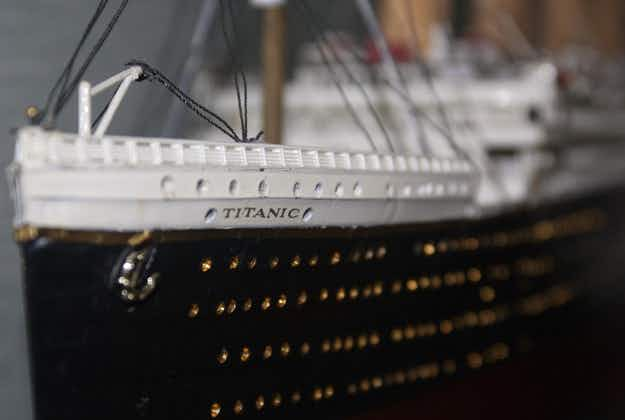 Abu Dhabi hotel serves up Titanic meal recreating 10-course odyssey in replica first class dining room