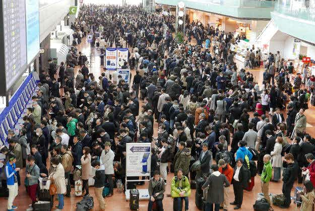 The reason airport queues are longer in the summer, and it's not what you think