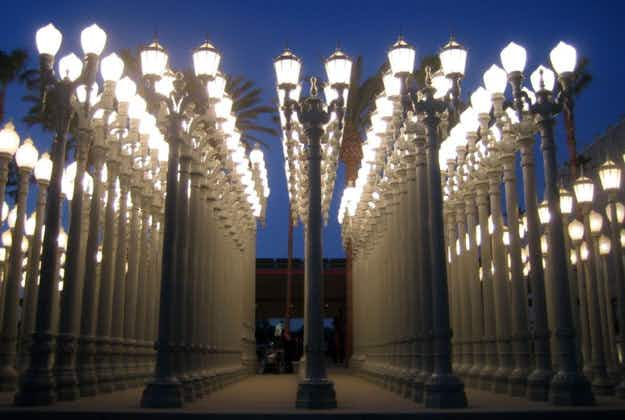 Iconic LA streetlamp artwork to be switched off for a couple of months for repairs