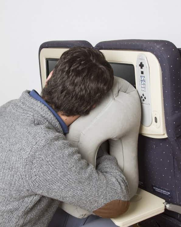 Finally! Could these pillows help us get a proper sleep on a flight?