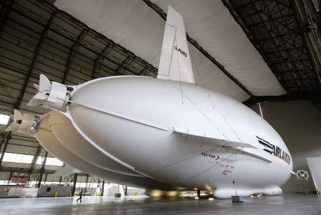 Return of the Zeppelin: new generation of giant airships gets ready for takeoff