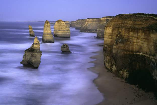 Delight at discovery of five new sea stacks at Australia's famous Twelve Apostles