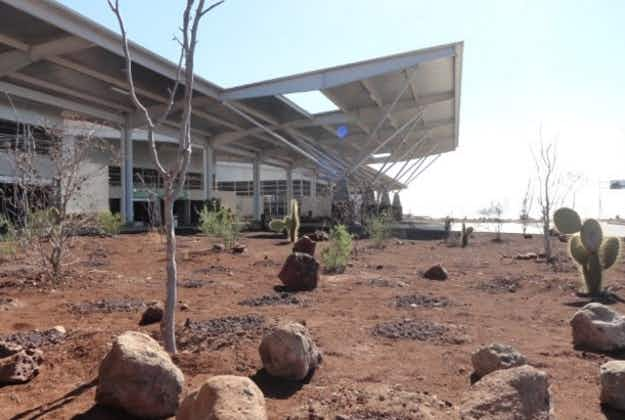 Totally green! Environmentally friendly Galapagos airport runs on wind and sun energy