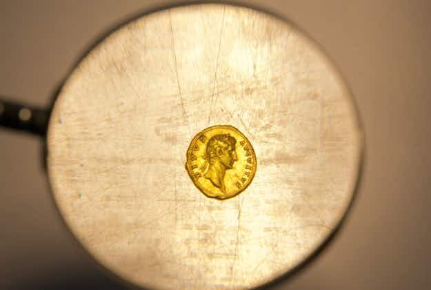 Hiker in Israel finds 2000-year-old ancient gold coin that may have been Roman soldier's pay