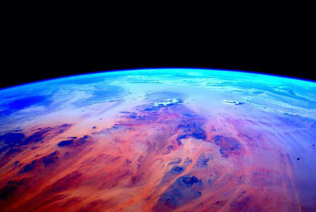 Beautiful images from a year in space as astronaut Scott Kelly returns to Earth