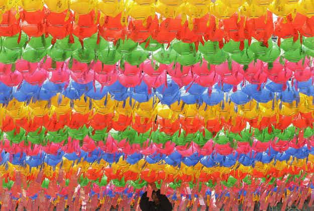 Stunningly colourful spring celebrations in today's photos from around the world