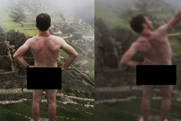 Machu Picchu gets tough on nude selfie tourists