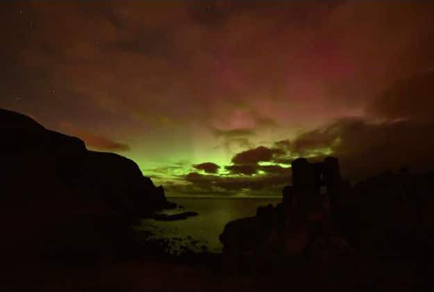 Northern Lights spectacular seen around UK and Ireland