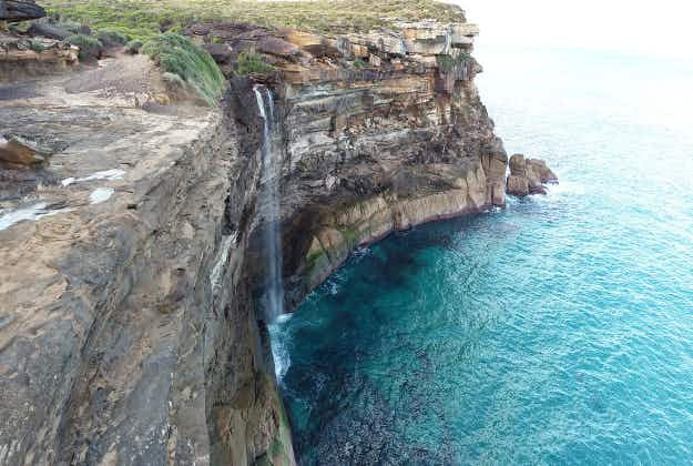 "Tourists warned over New South Wales' ""incredibly unstable"" Wedding Cake Rock"