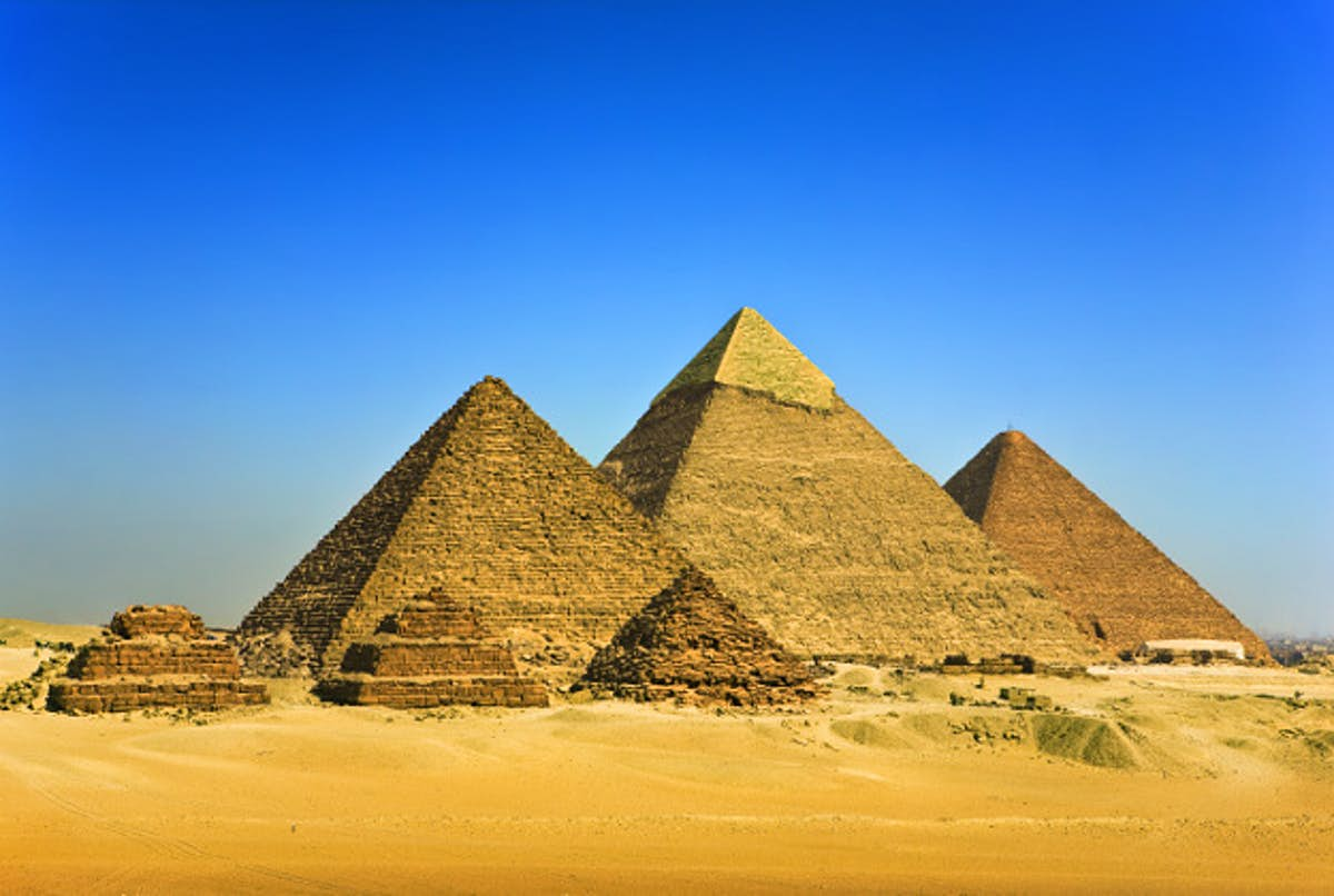 Egypt's multimillion-dollar project to tempt tourists back to the pyramids