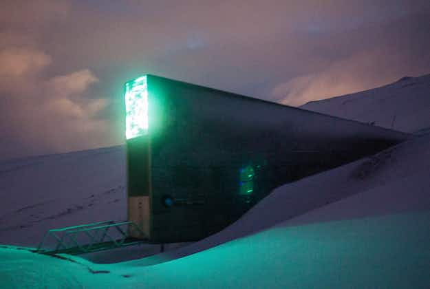 Inside the 'doomsday vault': the incredible Svalbard Global Seed Vault in Norway