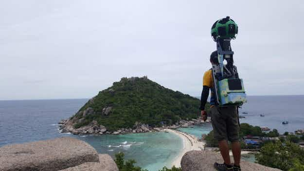 Meet the man who hiked 500 km around Thailand to capture sites on Google Street View