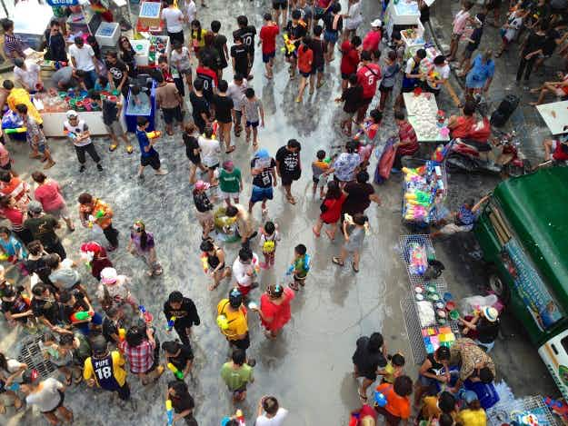 Drought-hit Bangkok urges Songkran revellers to switch water pistols for spray bottles