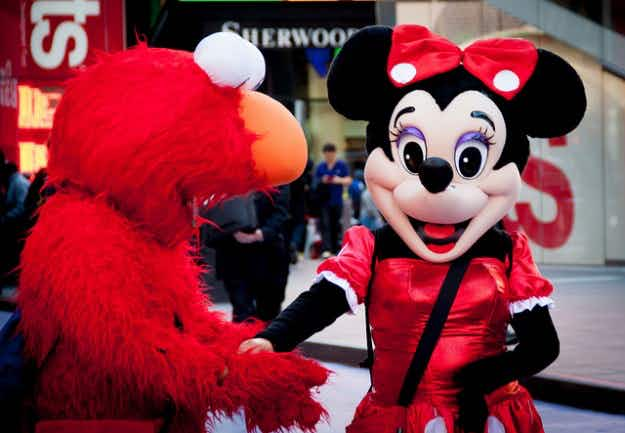 New York gets tough on Elmos with Times Square costumed characters crackdown