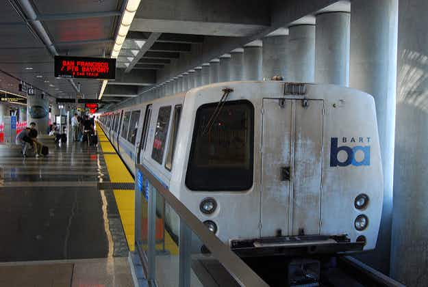 BART metro system gets a makeover in San Francisco Bay Area
