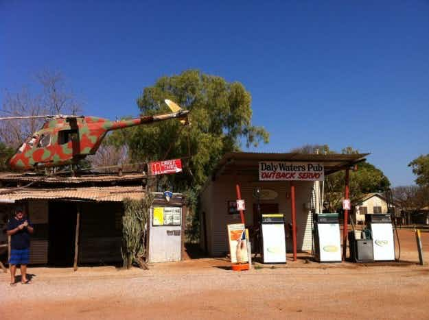 Iconic outback pub goes up for sale in Australia's Northern Territory