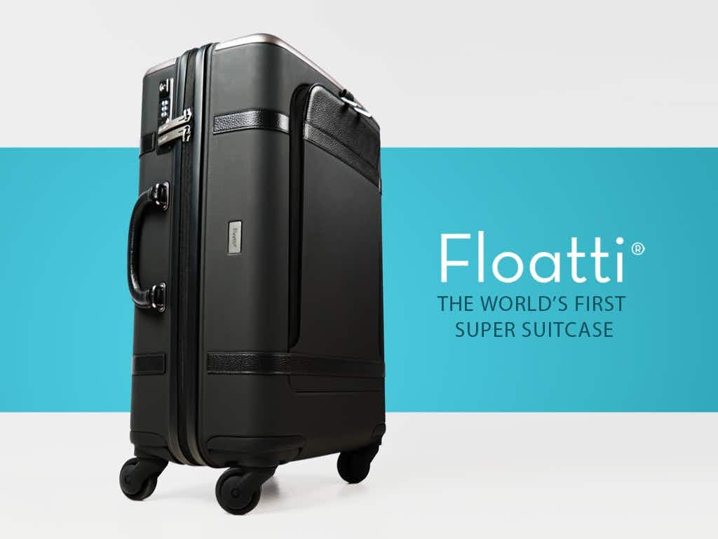 Is this the end of luggage woes? New smart suitcase has built in chargers, GPS tracking and weighs itself