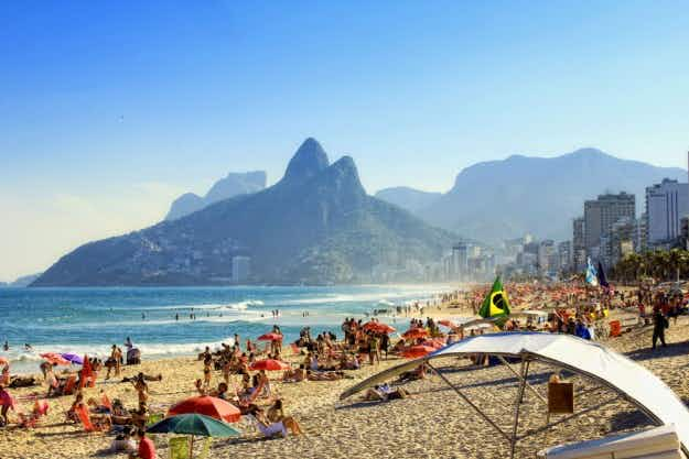This is where travellers are staying in Rio de Janeiro during the Olympic Games