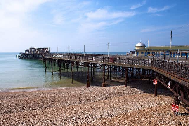 Hastings' historic pleasure pier reopens with film festival and Madness