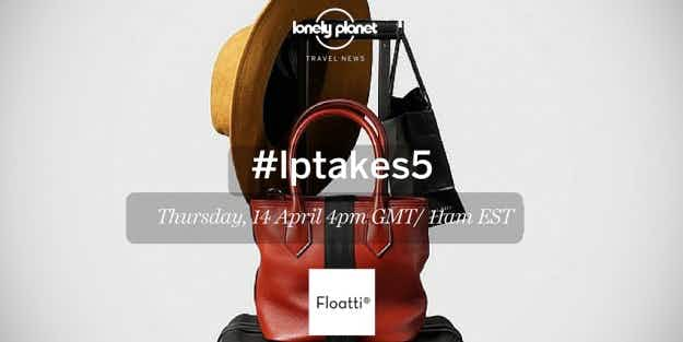 #LPTakes5; find out about the world's smartest suitcase in our Twitter chat