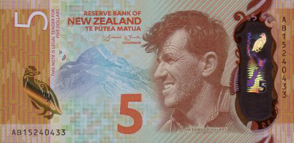 New Zealand scoops Bank Note of the Year with Sir Edmund Hilary design