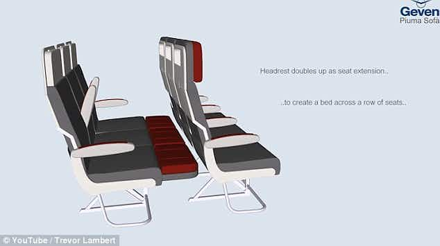Convertible airline 'economy' beds in the pipeline for frequent flyers?
