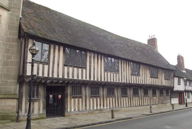 The classroom where Shakespeare sat, opens to the public this weekend