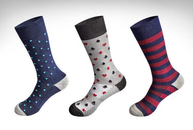 Flight socks to save your blushes and bring a sigh of relief to your fellow passengers