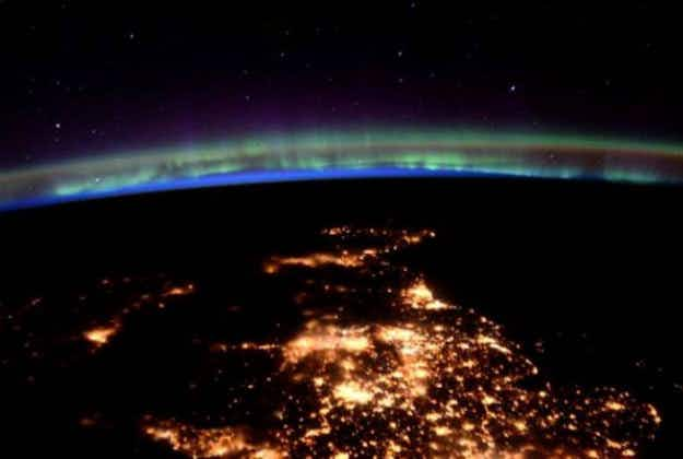 Tim Peake shares stunning pictures of the UK from space on his birthday