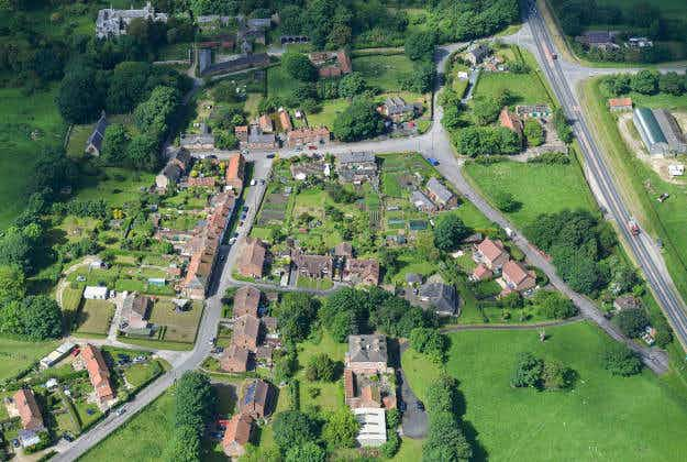 English village on sale for £20 million, includes mansion, pub, houses and acres of farmland