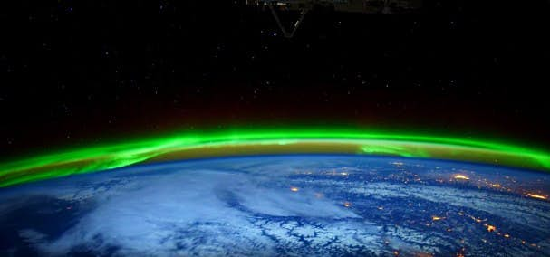 NASA releases footage of amazing dancing lights as seen from space