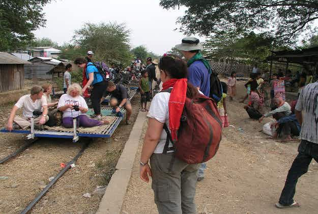 Cambodia's famous Bamboo Train may be nearing end of the line