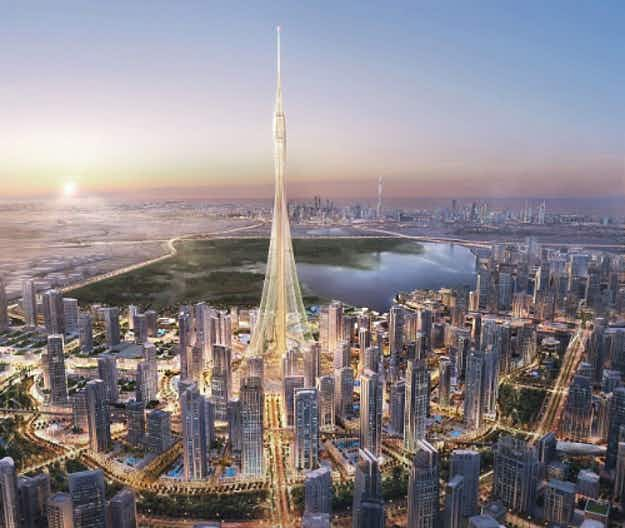 Dubai plans to erect tallest tower in the world - even bigger than the Burj Khalifa