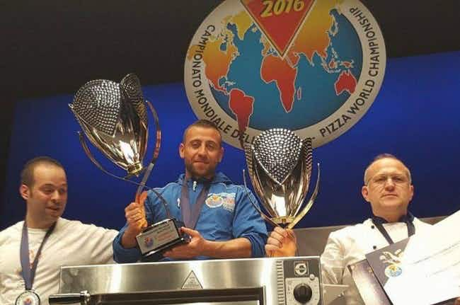 Zut alors! A Frenchman has won the Pizza World Championships in Italy
