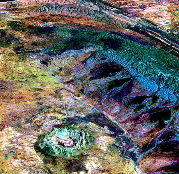 Rainbow planet; NASA releases spectacular imagery of the earth as you've never seen it before