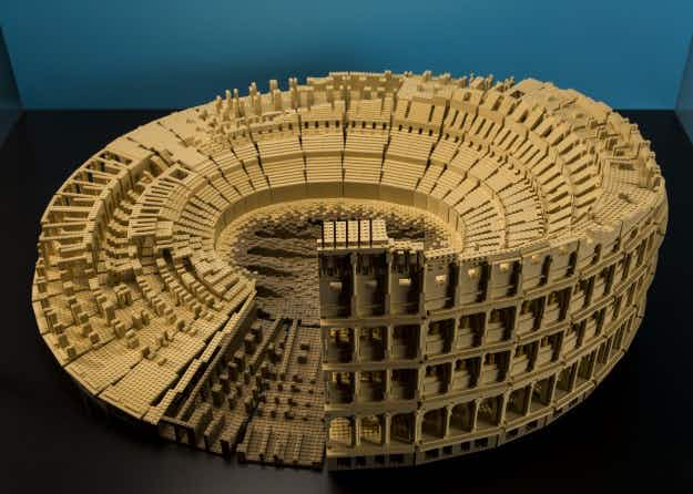 See architectural wonders built out of LEGO at the Museum of Science and Industry in Chicago