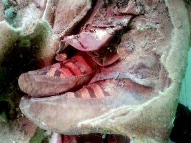 Mongolia mummy reveals ancient fashion and sparks time travel debate