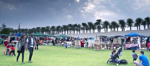 Qatar's first 24 hour park gives travellers and residents a breath of fresh air