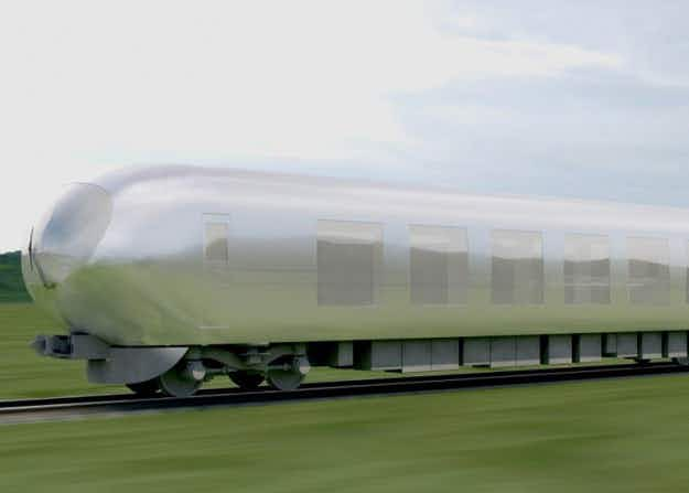 A Japanese railway company has an unusual proposal for a train you may not see coming