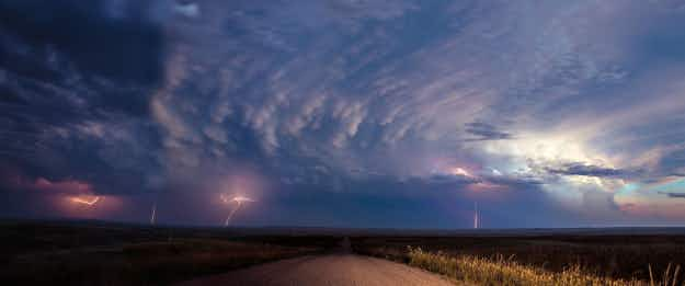 Female stormchaser turns the world's most dangerous weather into stunning photography