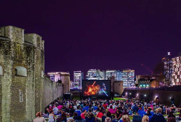 The Tower of London to screen movies in its moat for cinema fans this summer